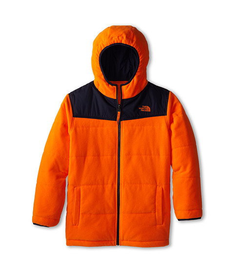 The North Face Kids - Boys' Reversible True Or False Jacket (Little Kids/Big Kids) (Peel Orange) Boy's Coat