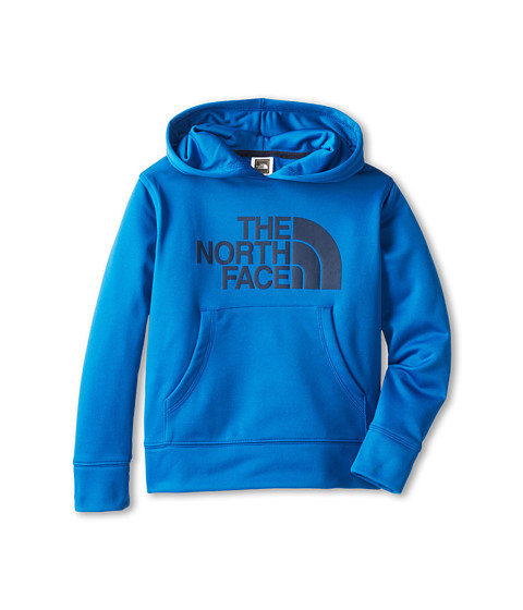 The North Face Kids - Boys' Logo Surgent Pullover Hoodie (Little Kids/Big Kids) (Snorkel Blue) Boy's Sweatshirt