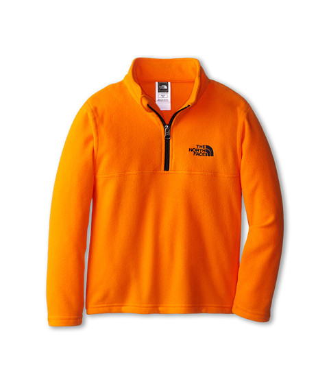 The North Face Kids - Glacier 1/4 Zip (Little Kids/Big Kids) (Peel Orange) Boy's Long Sleeve Pullover