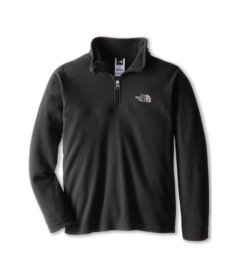 The North Face Kids - Glacier 1/4 Zip (Little Kids/Big Kids) (TNF Black) Boy's Long Sleeve Pullover