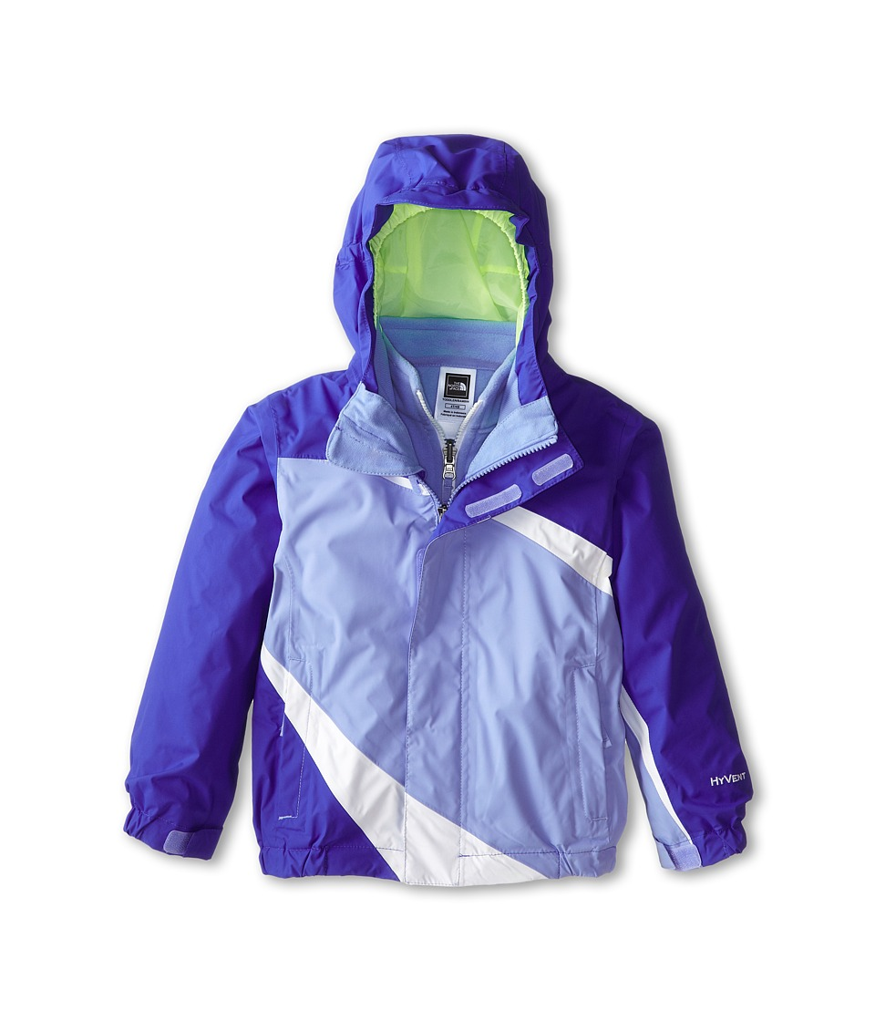 The North Face Kids - Mountain View Triclimate Jacket (Toddler) (Vibrant Blue) Girl's Jacket