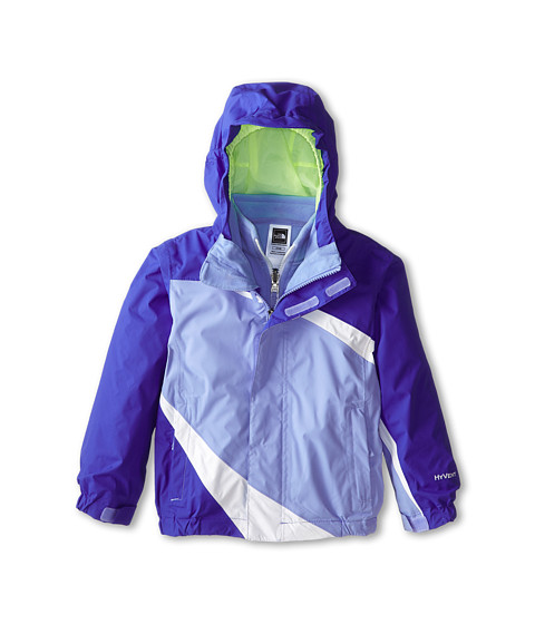 The North Face Kids - Mountain View Triclimate Jacket (Toddler) (Vibrant Blue) Girl