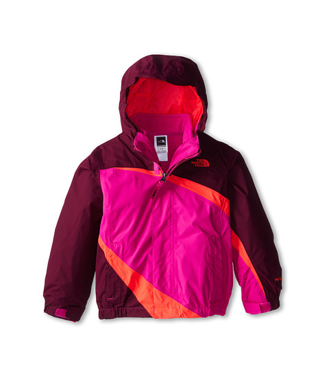 The North Face Kids - Mountain View Triclimate Jacket (Toddler) (Parlour Purple) Girl