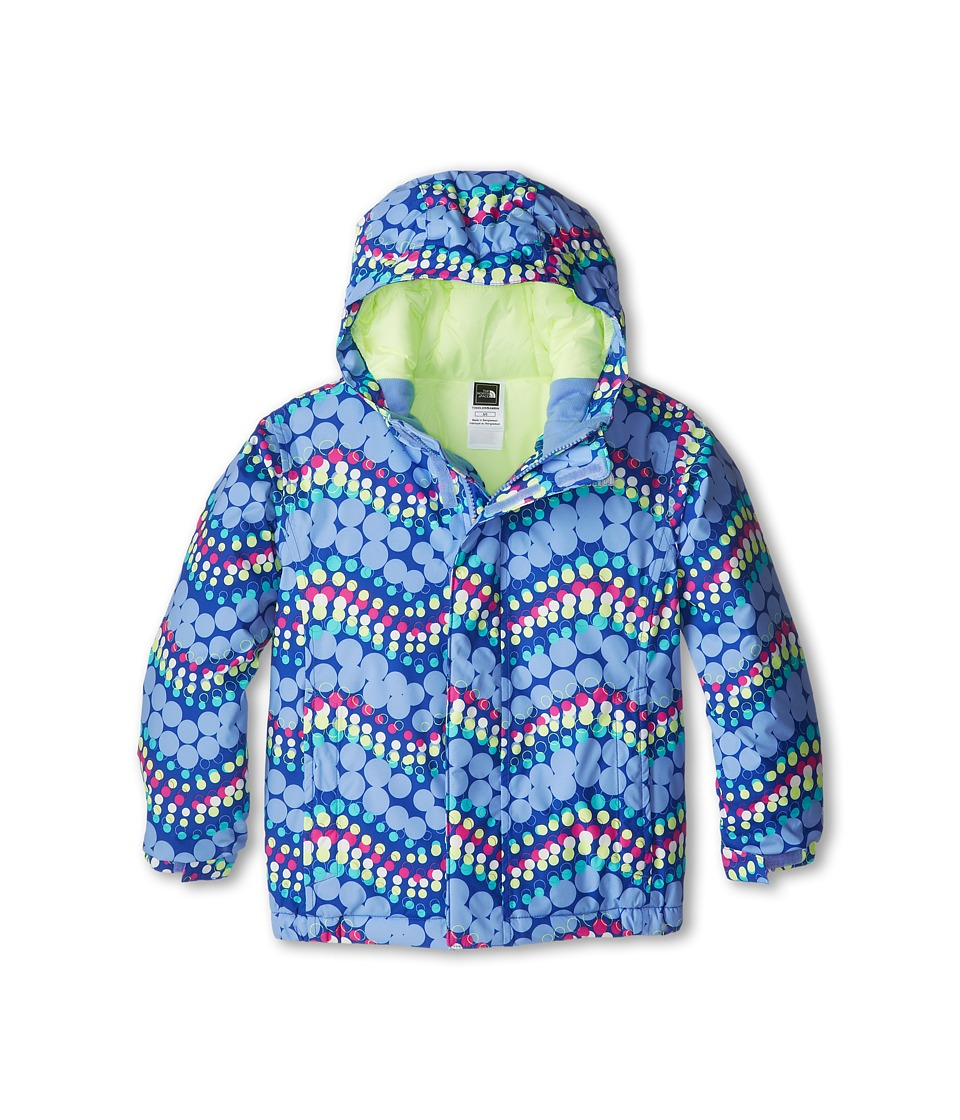 The North Face Kids - Insulated Avery Jacket (Toddler) (Vibrant Blue) Girl