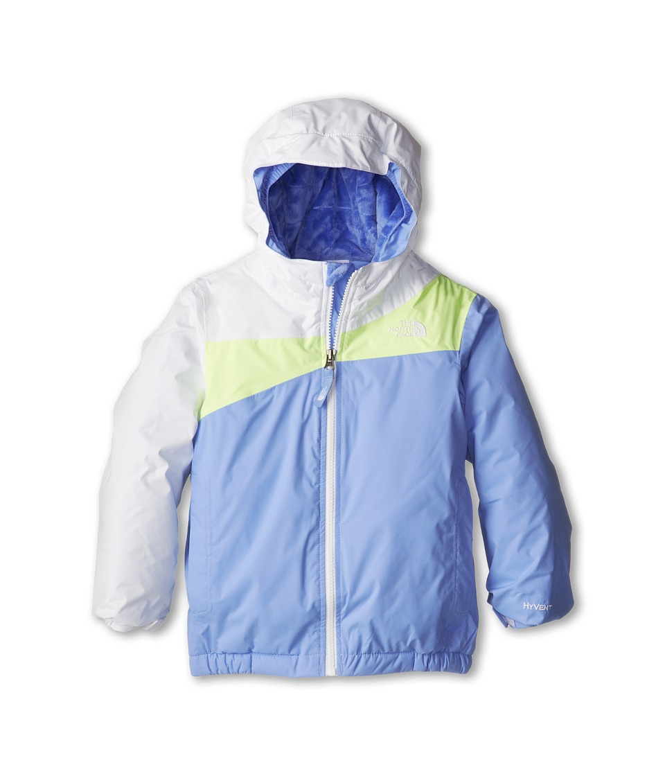 The North Face Kids - Insulated Poquito Jacket (Toddler) (TNF White/Dynasty Blue) Girl