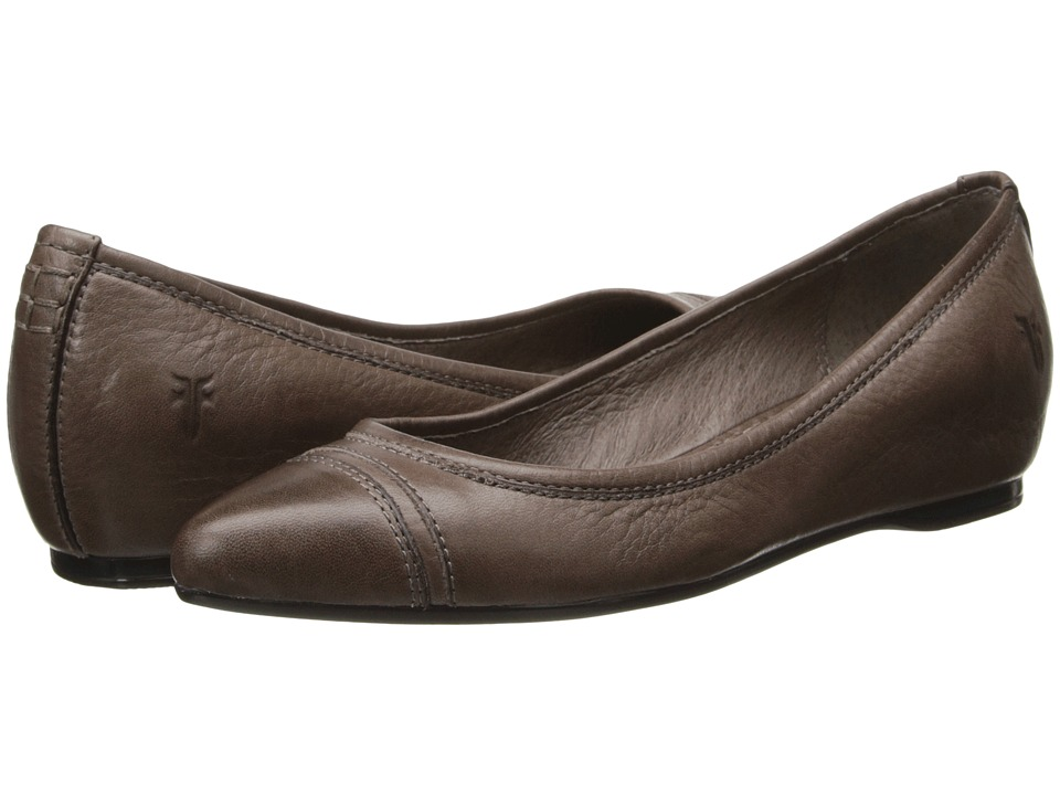 Frye - Alicia Ballet (Grey Soft Vintage Leather) Women