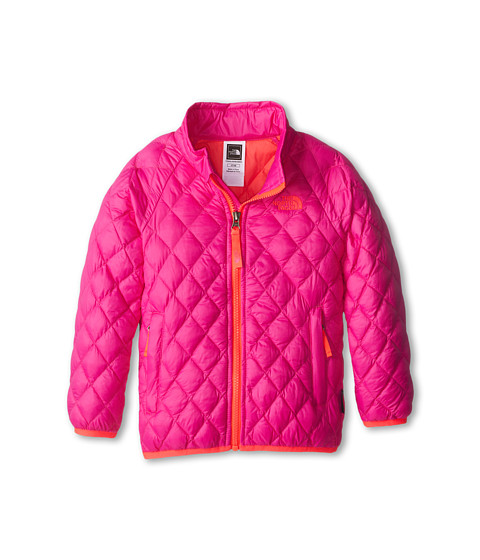 The North Face Kids - ThermoBall Full Zip Jacket (Toddler) (Azalea Pink) Girl