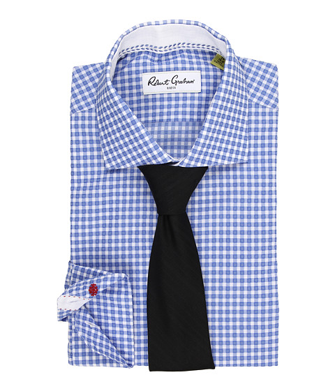 Robert Graham - Hank Dress Shirt (Blue) Men