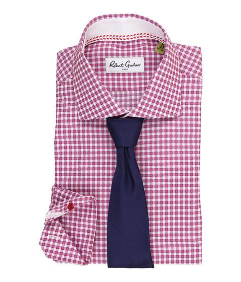 Robert Graham - Hank Dress Shirt (Berry) Men