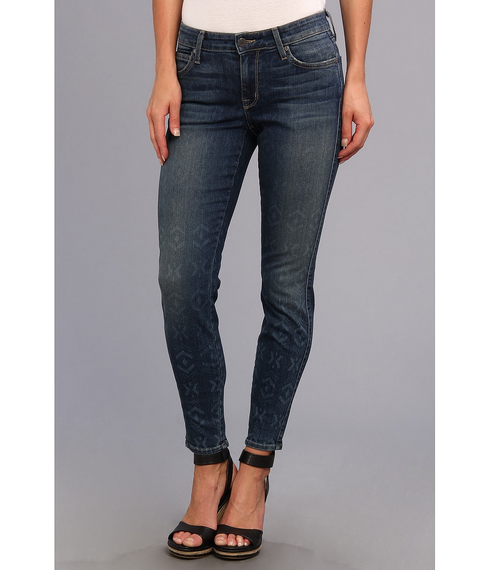 CJ by Cookie Johnson - Wisdom Ankle Skinny Laser Ombre Tribal in Morgan (Morgan) Women's Jeans