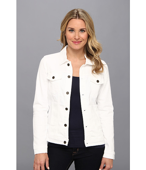 CJ by Cookie Johnson - Trust Bull Denim Classic Jacket (Optic White) Women