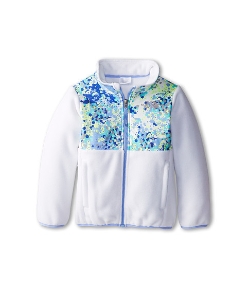 The North Face Kids - Denali Jacket (Toddler) (Recycled TNF White/TNF White Multi) Girl's Coat