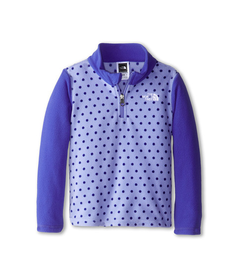 The North Face Kids - Glacier 1/4 Zip (Toddler) (Dynasty Blue) Girl's Long Sleeve Pullover