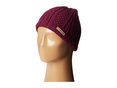 Columbia - Parallel Peak II Beanie (Dark Raspberry) Beanies