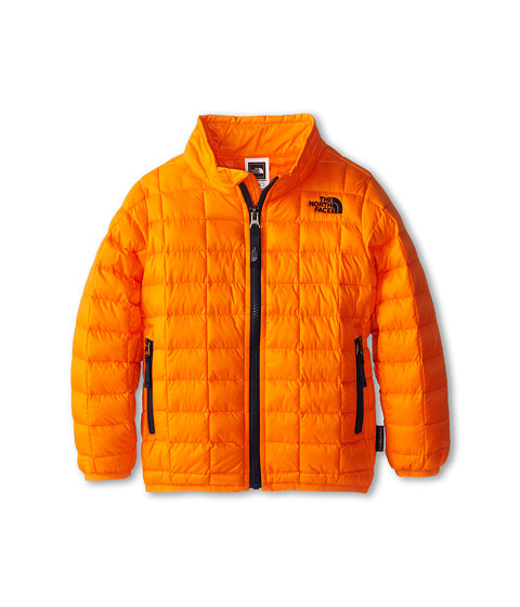 The North Face Kids - ThermoBall Full Zip Jacket (Toddler) (Peel Orange) Boy