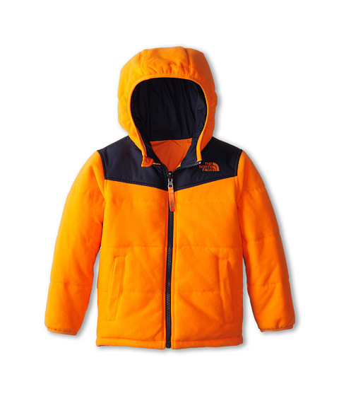 The North Face Kids - Reversible True Or False Jacket (Toddler) (Peel Orange) Boy's Jacket