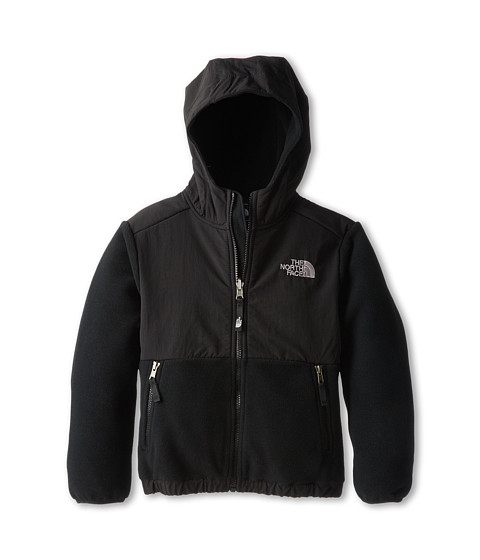 The North Face Kids - Denali Hoodie (Toddler) (Recycled TNF Black) Boy's Sweatshirt