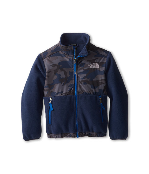 The North Face Kids - Denali Jacket (Toddler) (Recycled Cosmic Blue Camo Print) Boy's Coat
