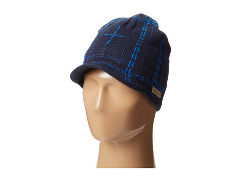 Columbia - Northern Peak Visor Beanie (Collegiate Navy) Beanies