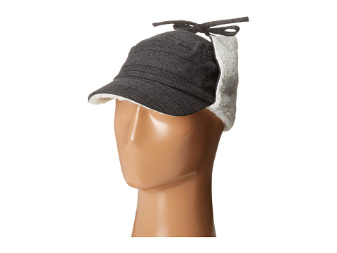 Columbia - Kazoo Earflap Hat (Graphite) Traditional Hats