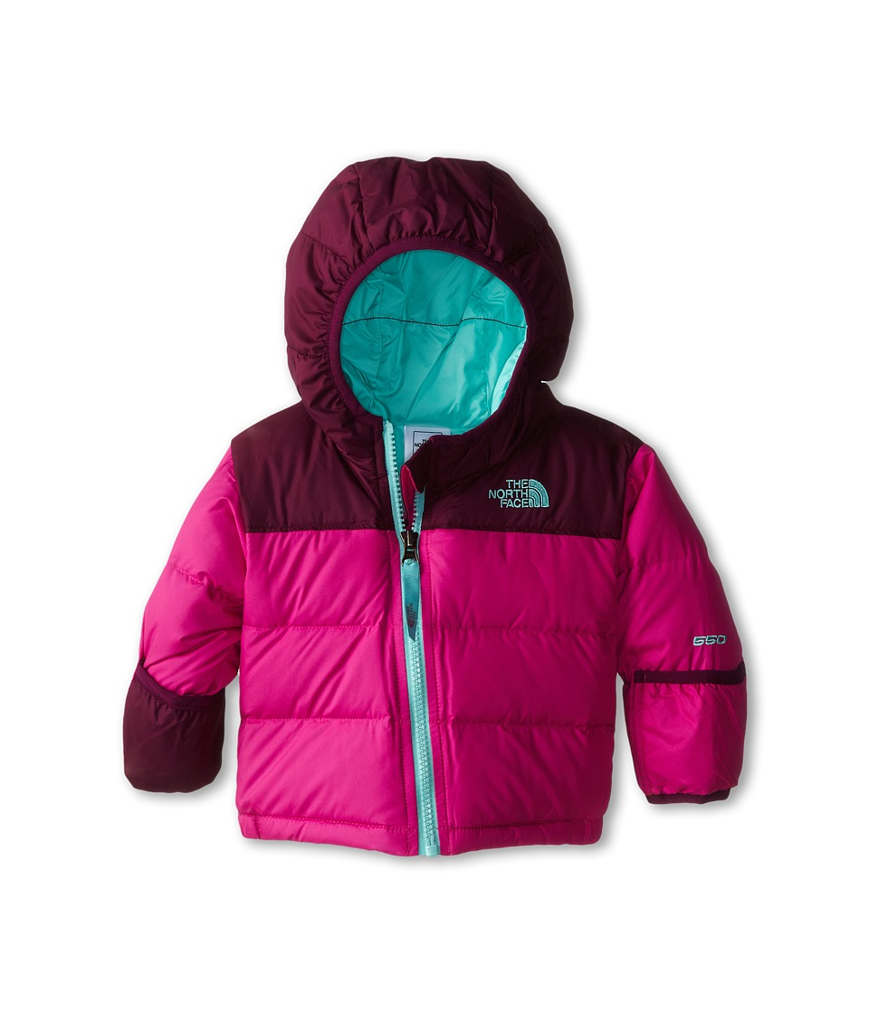 The North Face Kids - Nuptse Hoodie (Infant) (Azalea Pink) Kid