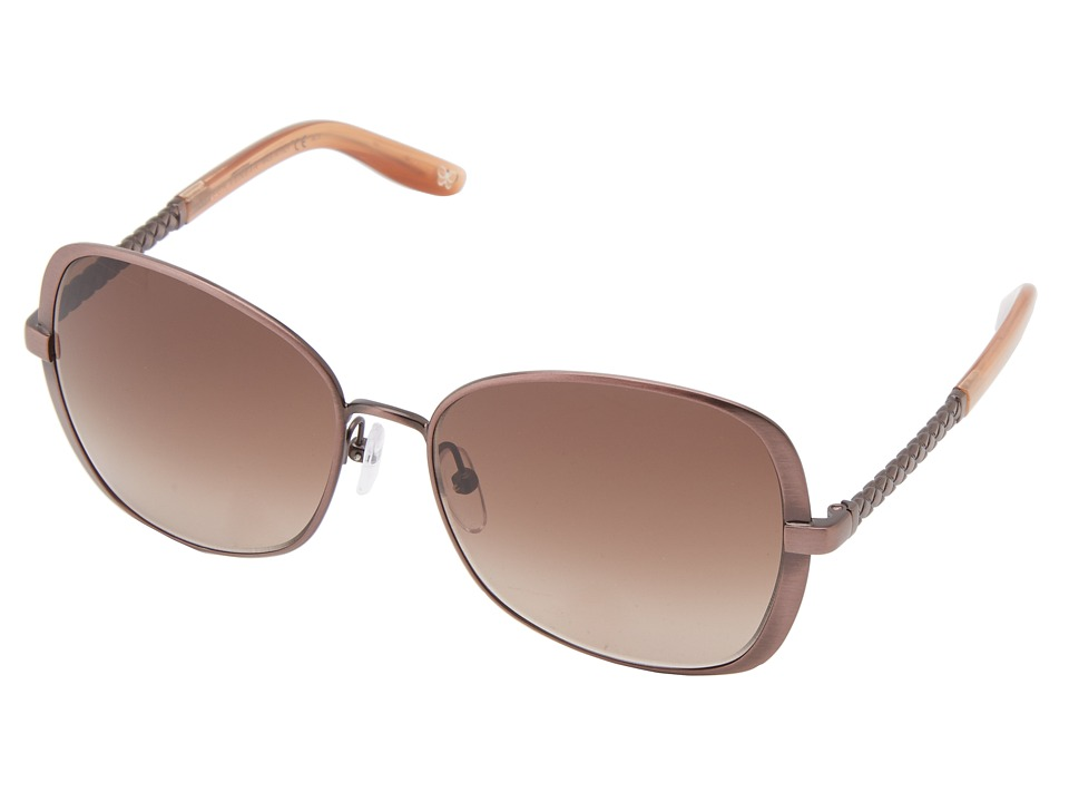 Bottega Veneta - BV 258/F/S (Antique Rose/Brown Gradient) Fashion Sunglasses