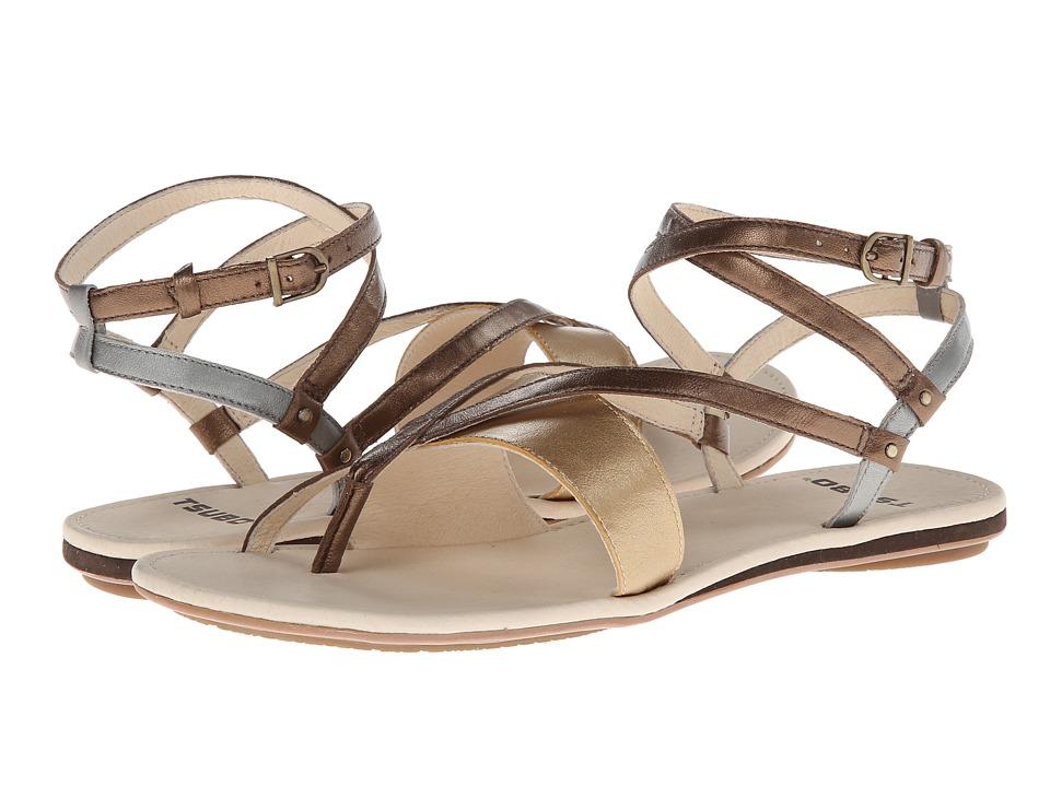 Tsubo - Brenleigh (Bronze Leather) Women's Sandals