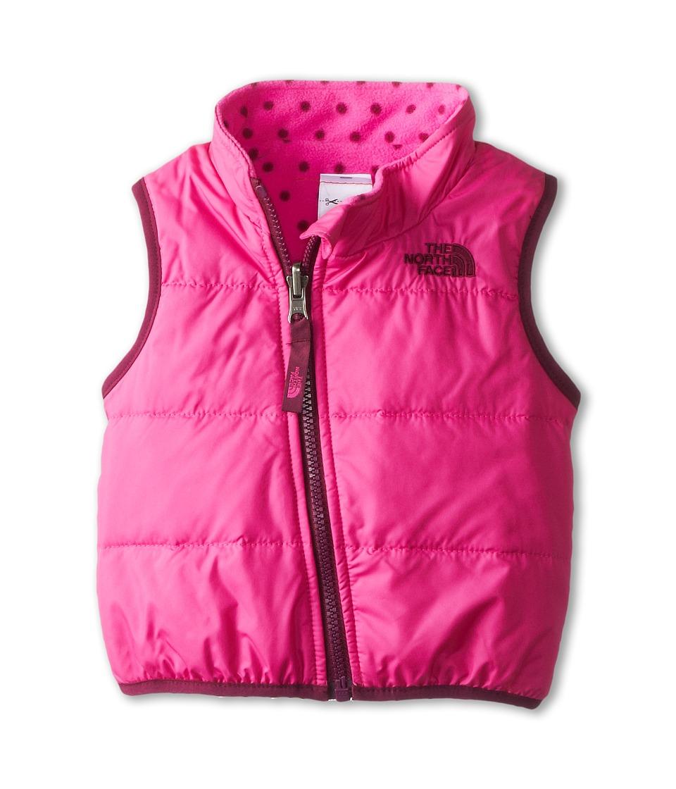 The North Face Kids - Reversible Glacier Vest (Infant) (Azalea Pink) Kid's Vest