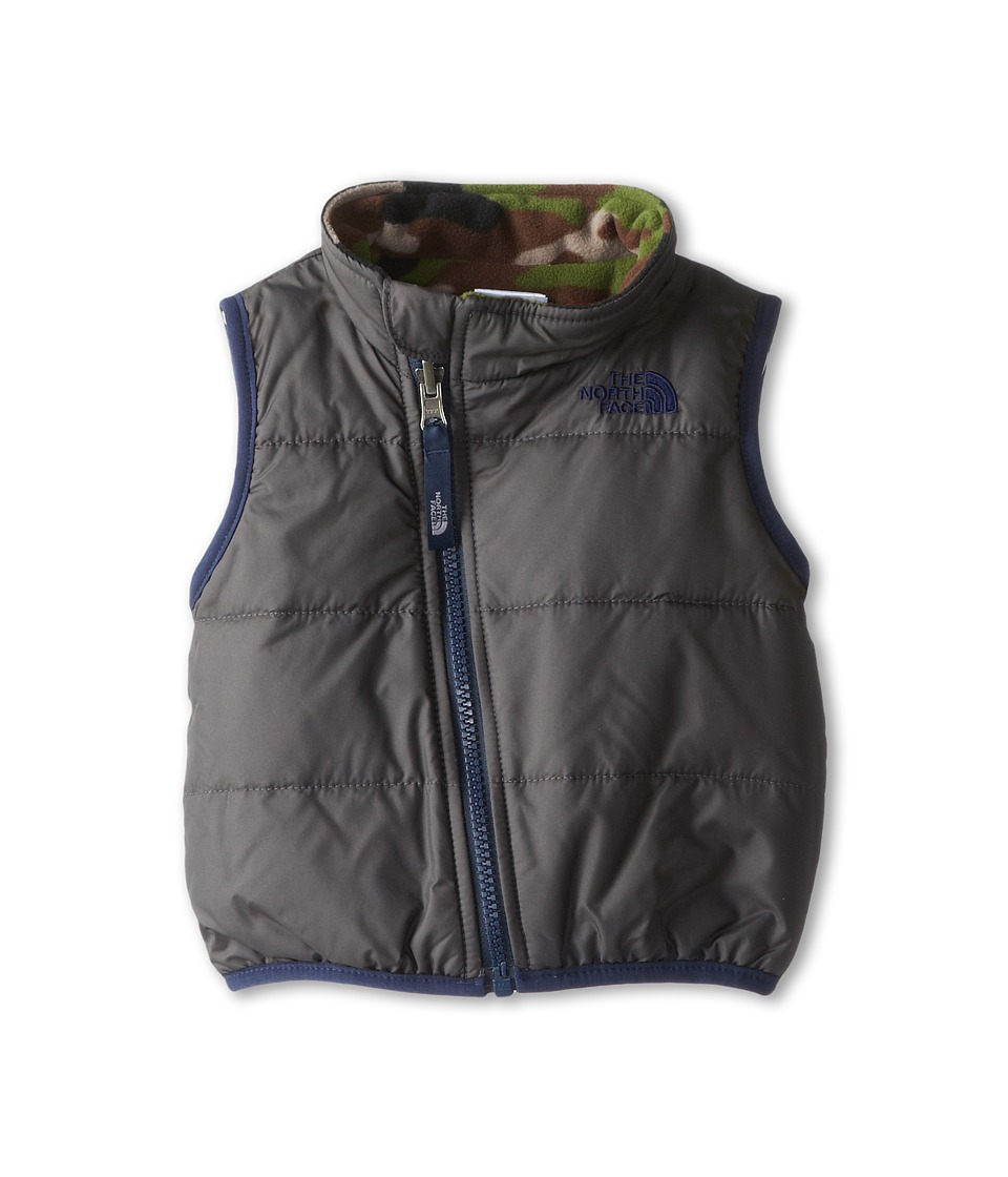 The North Face Kids - Reversible Glacier Vest (Infant) (Graphite Grey) Kid's Vest