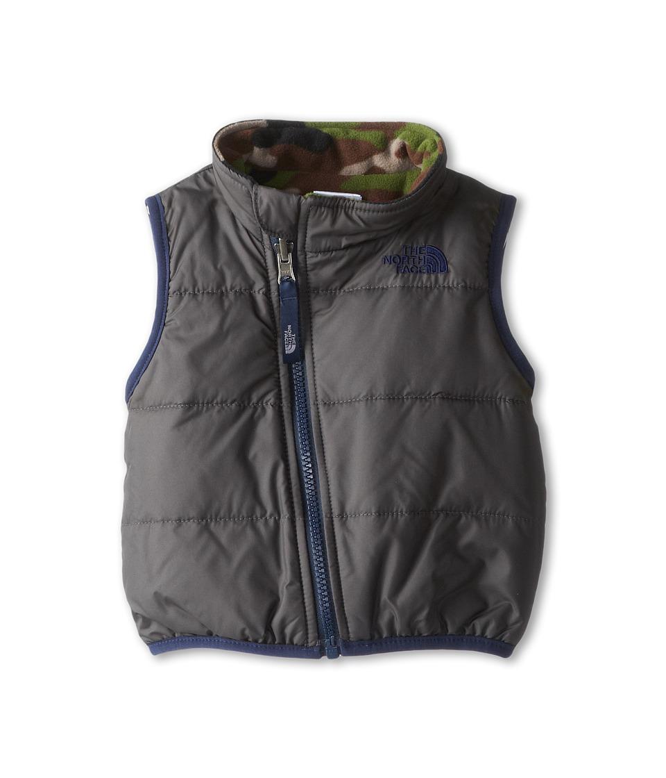 The North Face Kids - Reversible Glacier Vest (Infant) (Graphite Grey (Prior Season)) Kid's Vest
