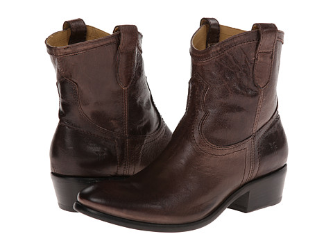 Frye - Carson Shortie (Smoke Washed Antique) Cowboy Boots