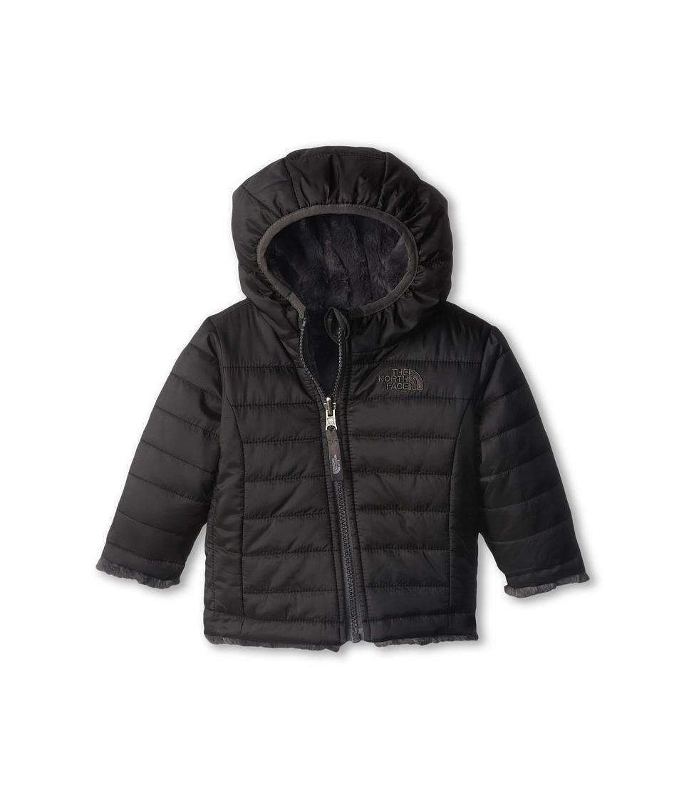 The North Face Kids - Reversible Mossbud Swirl Hoodie (Infant) (TNF Black) Kid's Sweatshirt