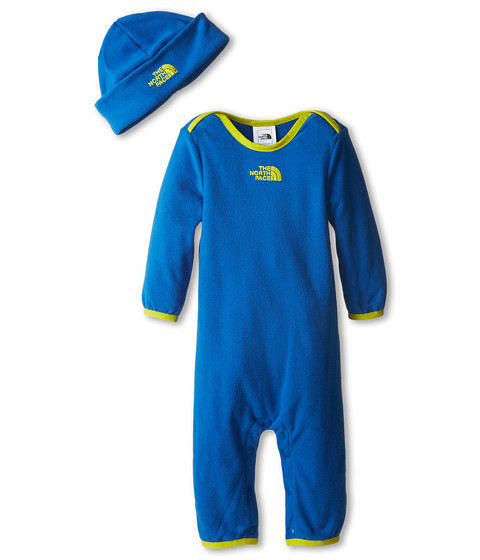 The North Face Kids - Lil' Cozy Fleece Set (Infant) (Snorkel Blue) Kid's Active Sets