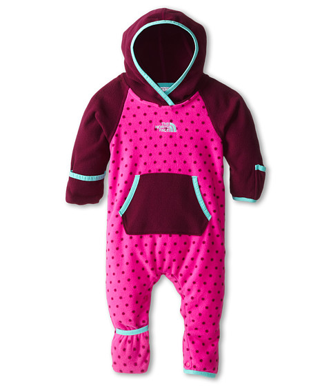The North Face Kids - Glacier One Piece (Infant) (Azalea Pink/Parlour Purple) Kid
