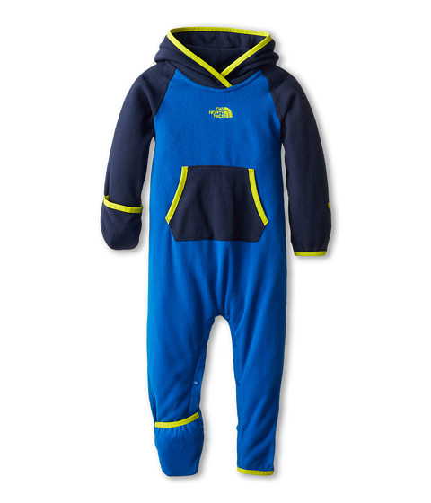 The North Face Kids - Glacier One Piece (Infant) (Snorkel Blue/Cosmic Blue) Kid