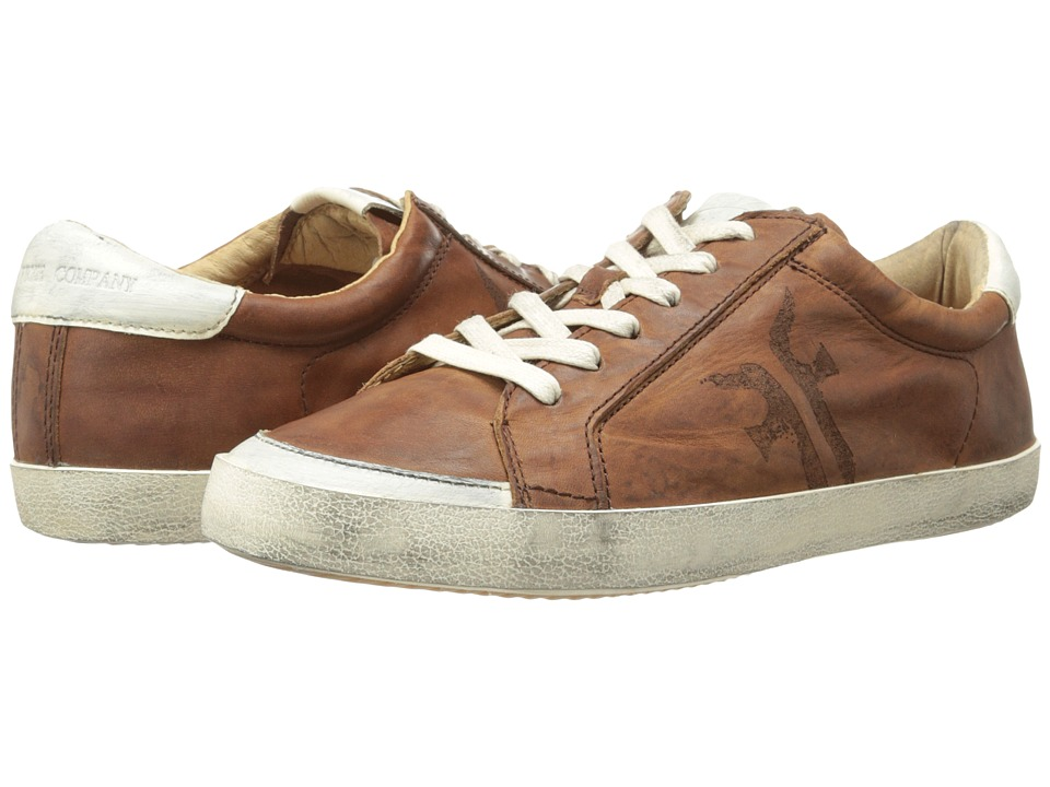 Frye - Dylan Low Lace (Cognac Washed Smooth Vintage) Women's Lace up casual Shoes