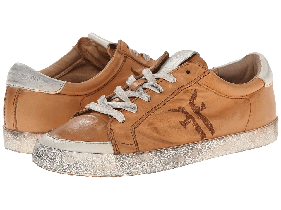 Frye - Dylan Low Lace (Tan Washed Smooth Vintage) Women's Lace up casual Shoes