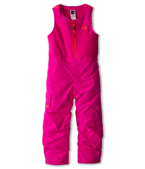 The North Face Kids - Insulated Bib (Toddler) (Azalea Pink) Girl