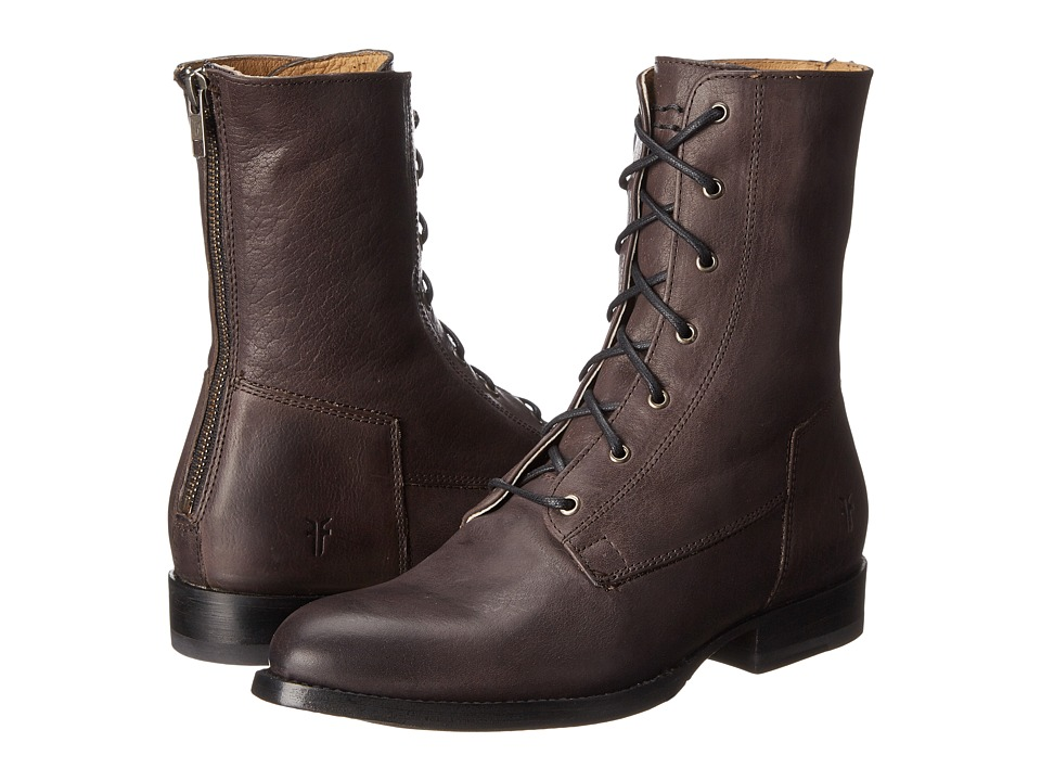 Frye - Jamie Artisan Lace (Charcoal Washed Vintage) Women's Lace-up Boots