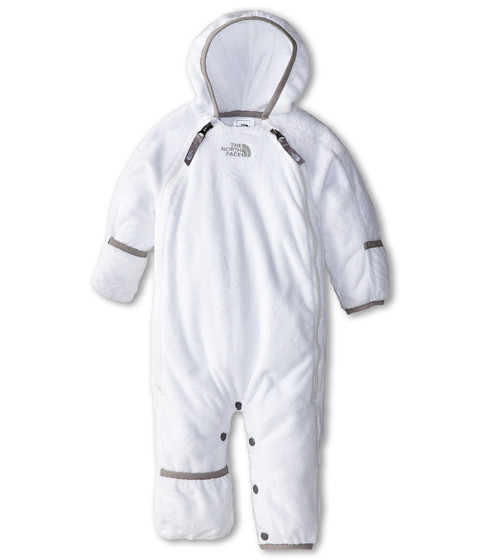The North Face Kids - Buttery Fleece Bunting (Infant) (TNF White) Kid