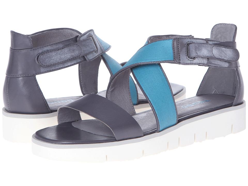 Tsubo - Eliah (Elephant/Teal) Women's Sandals