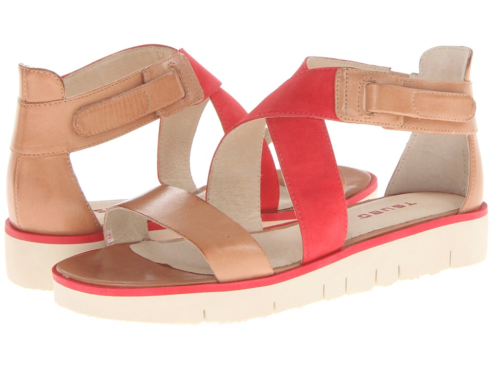 Tsubo - Eliah (Raw/Red) Women's Sandals