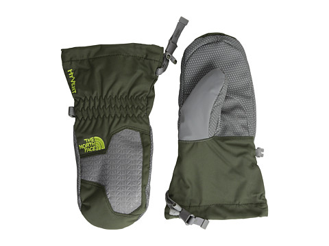 The North Face Kids - Boys' Montana Mitt (Big Kids) (Forest Night Green) Extreme Cold Weather Gloves