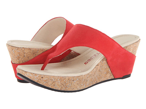 Tsubo - Odelle (Red Leather (Nubuck)) Women's Sandals