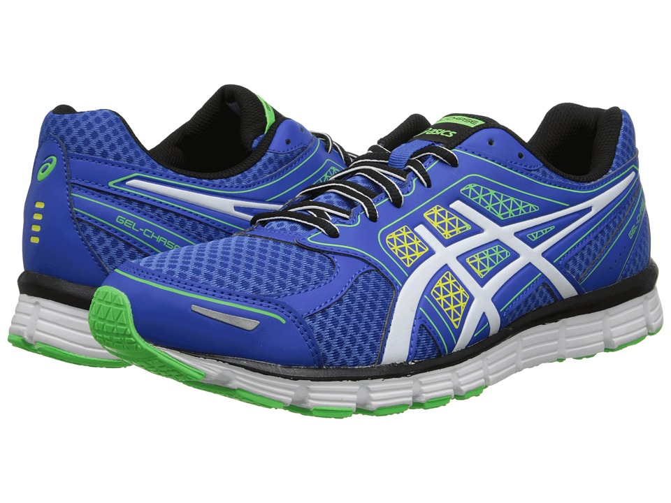 ASICS - Gel-Chase (Royal/White/Lime) Men's Running Shoes