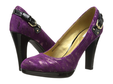 Geox - D Mariele Plat (Animal Print) (Dark Purple/Black) High Heels
