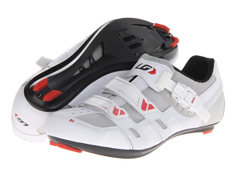 Louis Garneau - Revo XR3 (Black/White) Men's Cycling Shoes
