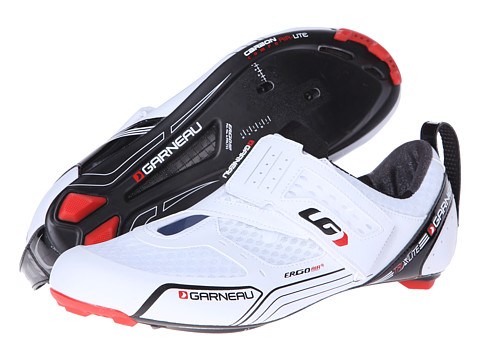 Louis Garneau - Tri X-Lite (White) Men's Cycling Shoes