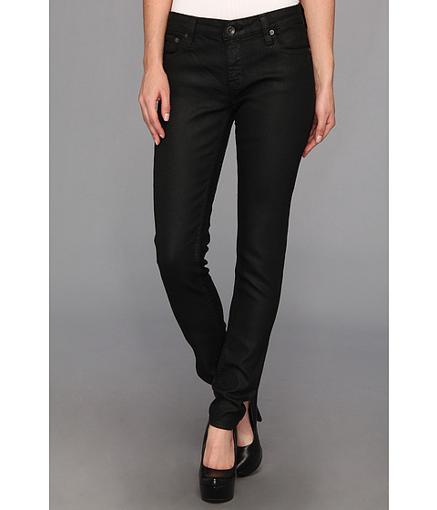Big Star - Alex Skinny in Black Wax (Black Wax) Women's Jeans