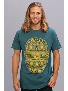 SALE! $15.99 - Save $12 on DC Heritage Hills Tee (Cave Moss) Apparel - 42.89% OFF $28.00